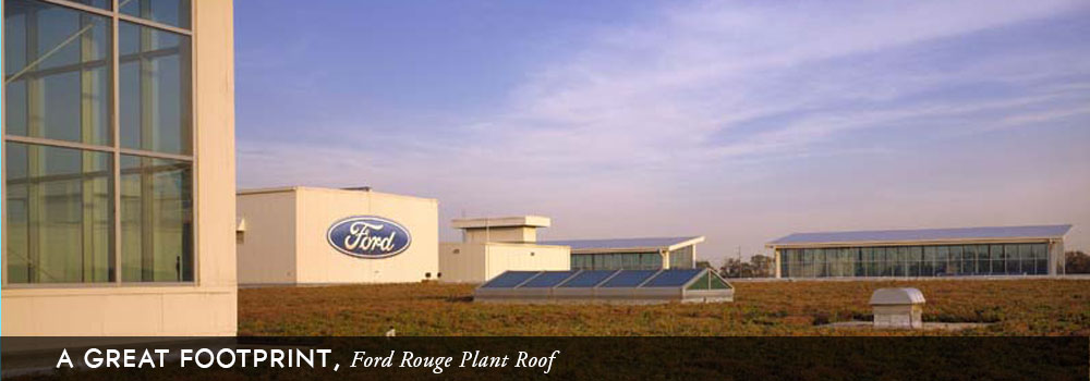 A Great Footprint, Ford Rouge Plant Roof